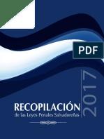 Recopilacion Leyes Penales Salvadorenas 2017