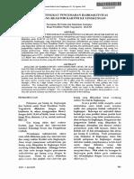 Analisis Tingkat Pencemaran Radioaktivitas Gas Buang Reaktor Kartini