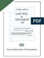 Last Will Testament Br. 2016