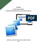Tutorial Aplikasi Agenda Uin Mlg