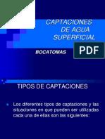 CAPTACIONES (BOCATOMAS)