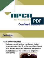 Confined Spaces Presentation