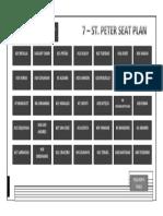 Seat Plan St. Peter
