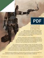 Matt Mercer Gunslinger Pdf Firearms Dungeons Dragons