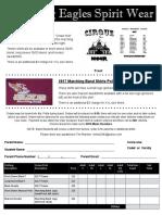 spirit wear order   form 2017 pdf
