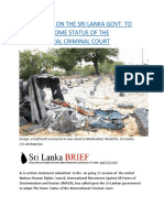 IMADR CALLS ON THE SRI LANKA GOVT. TO ADOPT THE ROME STATUE OF THE INTERNATIONAL CRIMINAL COURT.docx