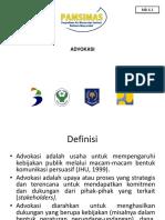 MB 6.1 Konsep Dan Strategi Advokasi