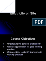Electricity on Site