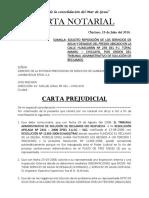 Carta ¡Notarial