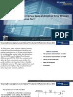 Choosing Between Optical Loss and Optical Time Domain Reflectometry Choose Both