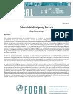 Gobernabilidad Indigena Territorio