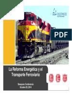 Ferrocarril y La Refroma Energetica