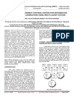 ANFIS Control of Energy Control Center for Distributed Wind and Solar Generators using Multi-Agent System