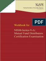 Nism Series v a Mutual Fund Distributors Exam Workbook