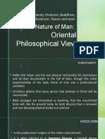 Oriental Philosopical View of Man 2