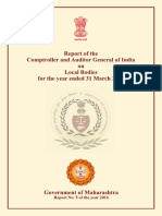 Maharashtra Compliance Audit LB Report 5 of 2016