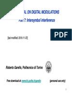 RG7 Intersymbol Interference
