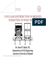 08 Live Load Distribution in Bridges Subjected to Wide Trucks_no Civil