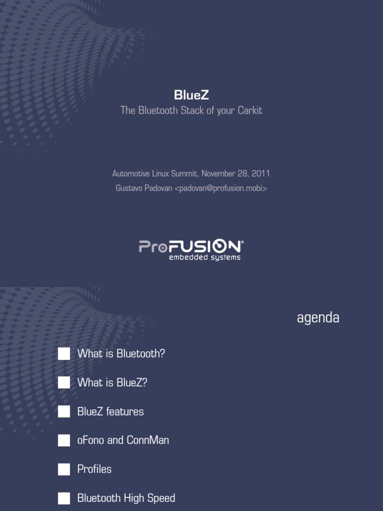 bluez-gustavopadovan   Bluetooth   Wireless