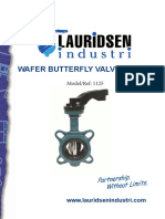 1125 - Lever Butterfly Valve