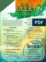 MS Parent Bulletin (Week of September 18 to 22)