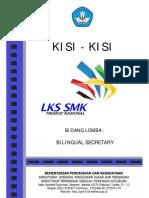 KISI-KISI Bilingual Secretary 2017