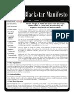 Blackstar Manifesto