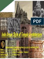 1.Indo Aryan Style