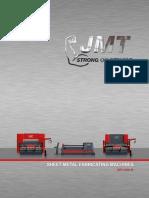 JMT Machine Tools ( Press Brakes, Fiber Laser, Plasma Machines, Iron Worker, Shears, Angle Rolls, )