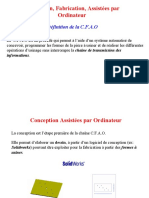 Conception, Fabrication, Assistées Par Ordinateur