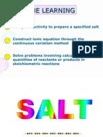 8.1 (d) Stoichiometric Reactions