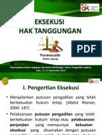 Pak Purwosusilo - Eksekusi Hak Tanggungan 2