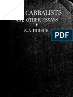 Hirsch - The Cabbalists and Other Essays (1922)_bw