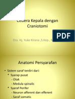 Cedera Kepala Dengan CraniotomiNew Microsoft Office PowerPoint Presentation