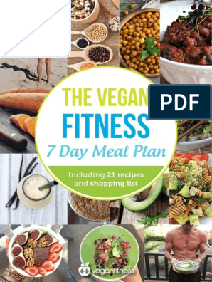 Vegan+Fitness+7+Day+Meal+Plan+eBook pdf | Leaf Vegetable | Curry
