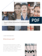 Most Attractive Employers 2017 Spain Students