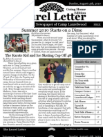 The Laurel Letter, Issue 3