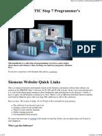 Siemens SIMATIC Step 7 Programmer's Handbook