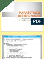 PARASITOSIS INTESTINALES