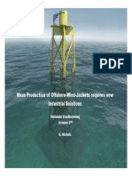 003.Mass Production of Offshore Wind Jackets Requires New Industrial Solutions 2nd October 2014
