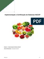 Implementação Do Sistema HACCP
