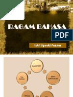 3. Ragam Bahasa