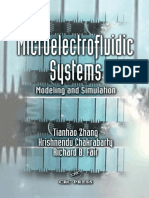 Microelectrofluidic Systems Modeling and Simulation