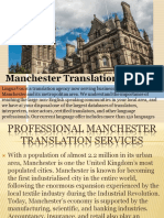 Manchester Translation Services