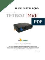 Manual de Instalação Do Tetros MIDI V1.01