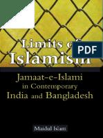 Limits of Islamism -- Jamaat-e-Islami in Contemporary India and Bangladesh