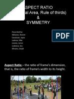 ASPECT RATIO and Symmetry