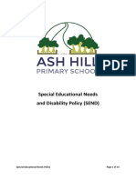Ash Hill Special Educational Needs Policy