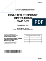 NWP 3-29 Disaster Response Ops (Dtd Dec 2011)