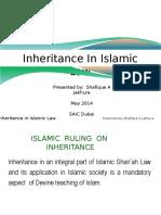 Inheritence Ppt Dubai May 2014